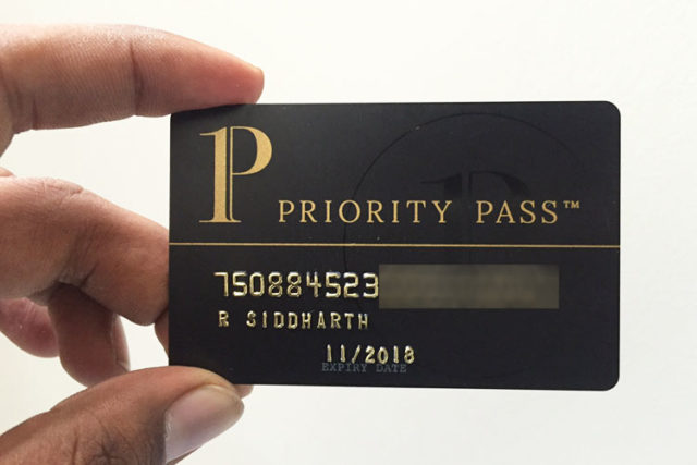 Карта Priority Pass для путешествий