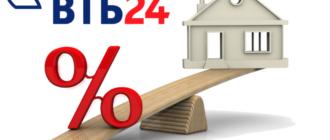 Рефинансирование ипотеки втб
