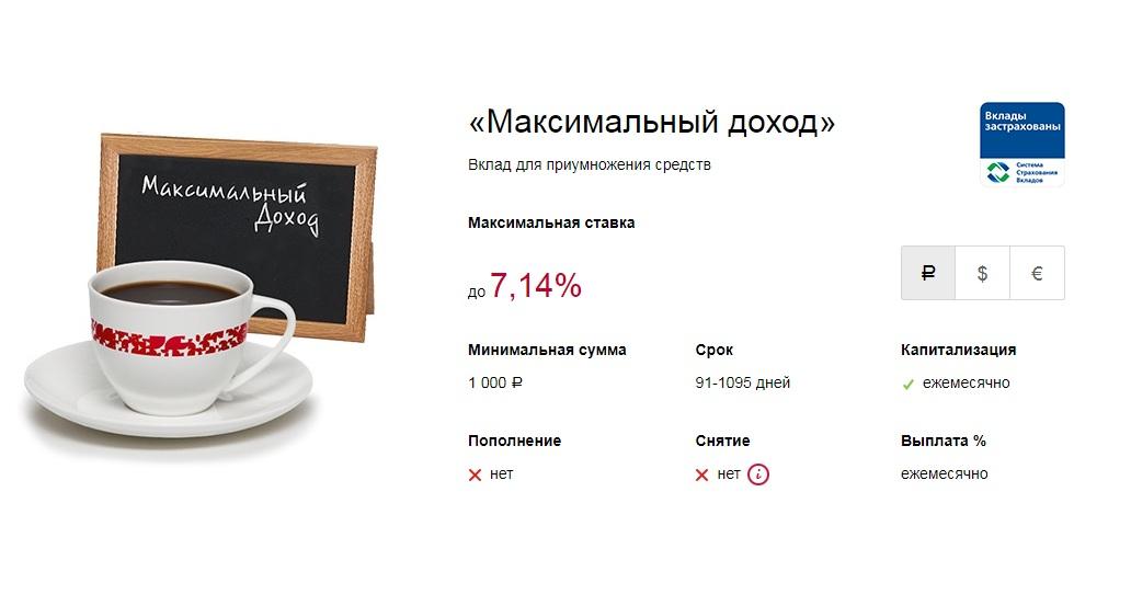 Как открыть вклад Банка Москвы