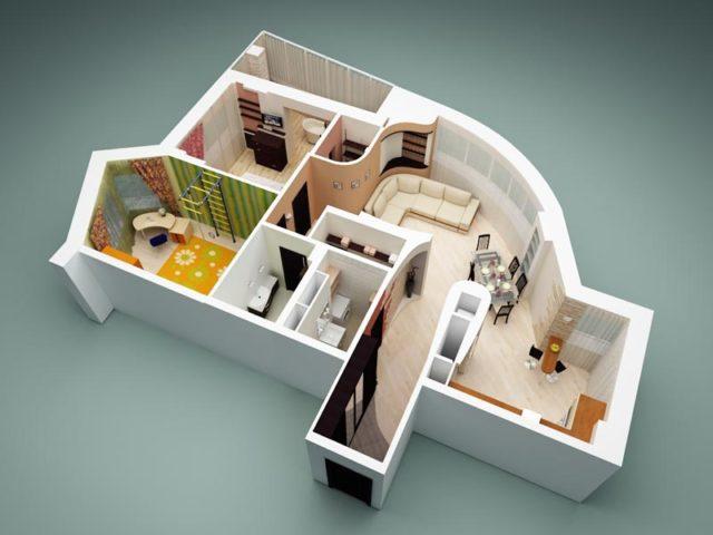 Перепланировка квартиры из ипотеки