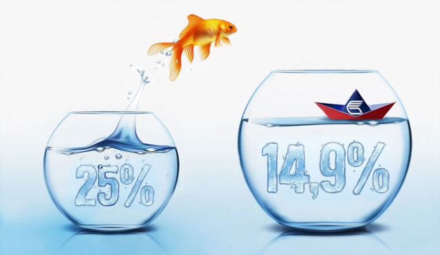 Снижение процентов при рефинансировании