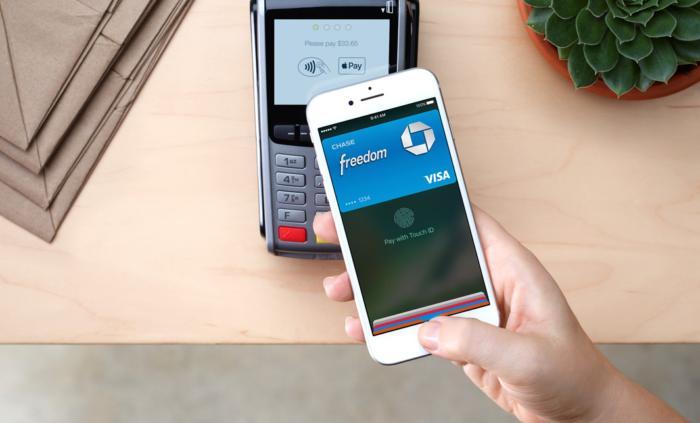 Оплата покупок в Apple Pay