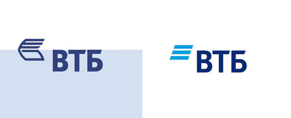 Логотипы ВТБ