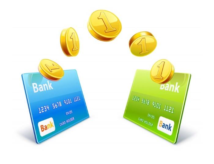 Перевод с карты одного банка на карту другого