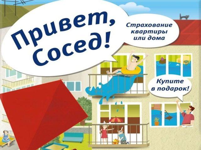 Страхование привет сосед