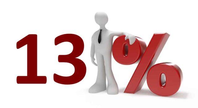 Кредит под 13 %