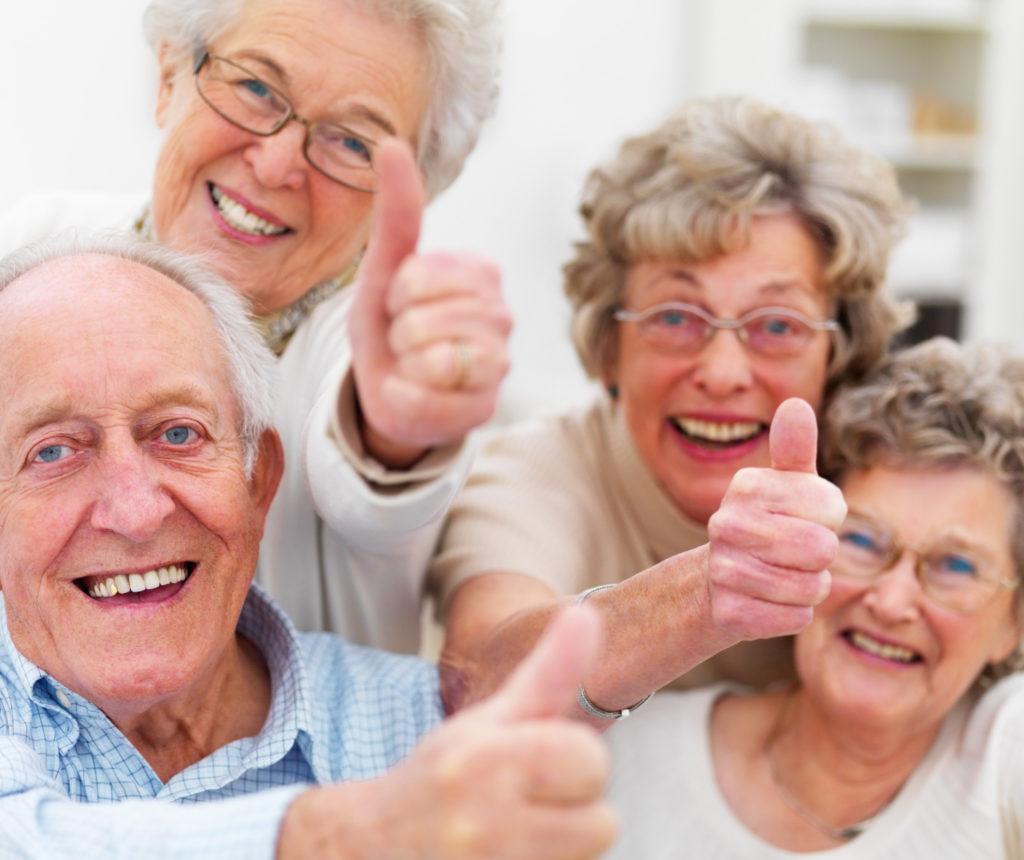 Хорошие условия для пенсионеров