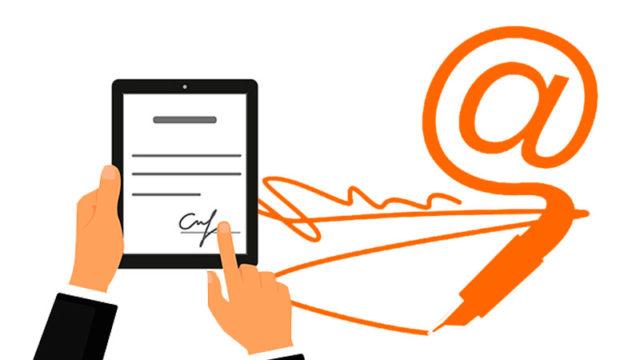 Цифровая электронная подпись