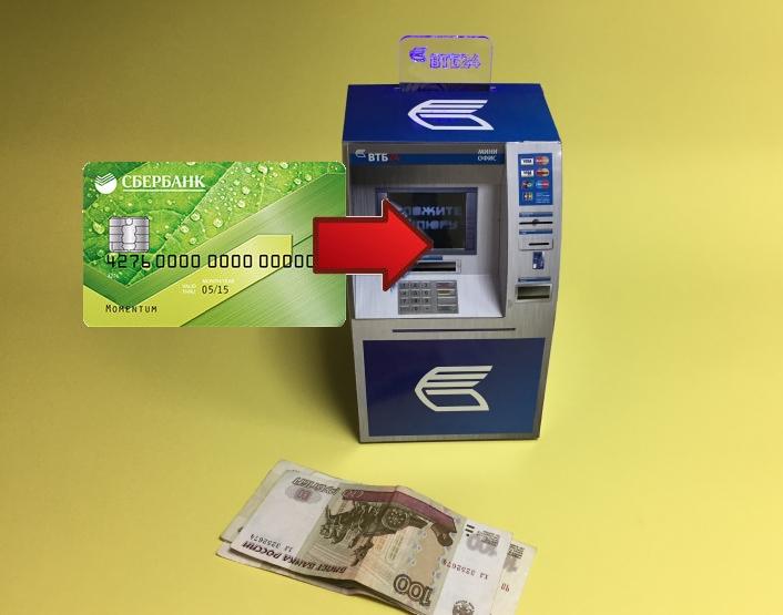 Принимают ли карты банка москвы в банкоматах втб