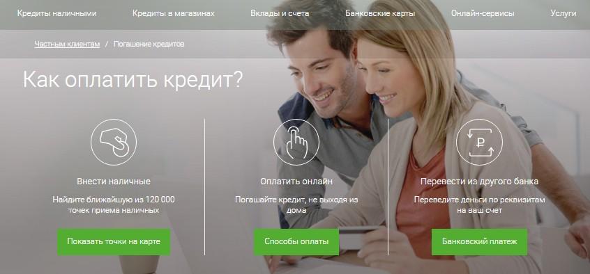 Способы погашение кредита