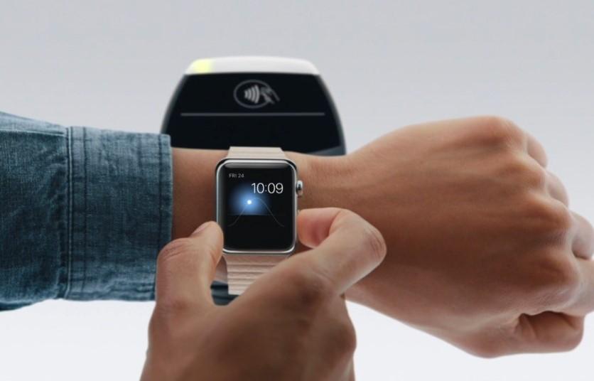 Apple Pay на часах Apple Watch